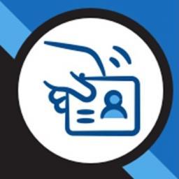 iowa abd app logo of hand holding identification card