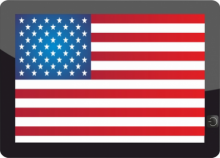 Digital Government - US Flag